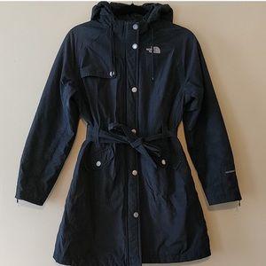 The North Face Long Black women's coat